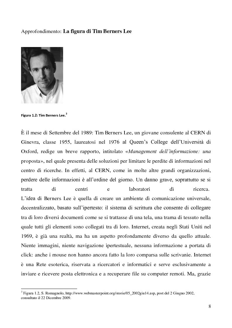 Anteprima della tesi: Tecnologie semantiche applicate alla Web Promotion in ambito turistico, Pagina 6