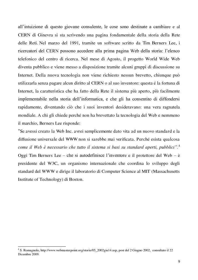 Anteprima della tesi: Tecnologie semantiche applicate alla Web Promotion in ambito turistico, Pagina 7