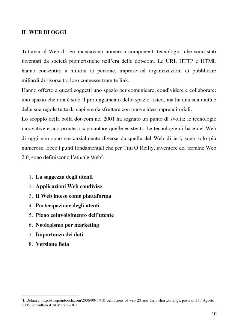 Anteprima della tesi: Tecnologie semantiche applicate alla Web Promotion in ambito turistico, Pagina 8