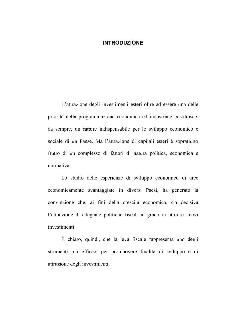 Anteprima della tesi: Zone Franche Urbane, Pagina 1