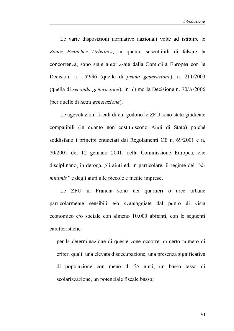 Anteprima della tesi: Zone Franche Urbane, Pagina 6