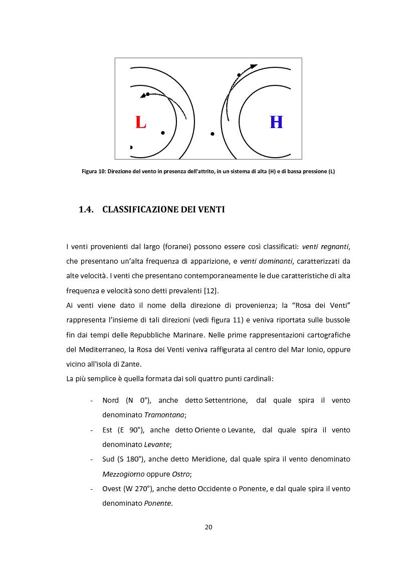 Anteprima della tesi: Valutazione del potenziale eolico dell'area di Vallata (AV) con l'utilizzo di modelli meteorologici ad area limitata, Pagina 10