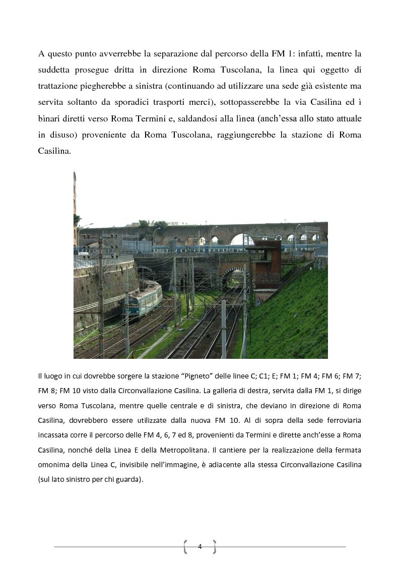 Anteprima della tesi: Progetto per un nuovo sistema di trasporto pubblico nel settore sud-orientale della città di Roma, Pagina 2