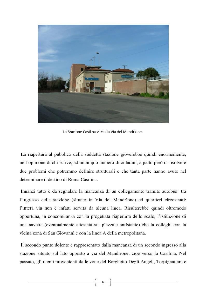 Anteprima della tesi: Progetto per un nuovo sistema di trasporto pubblico nel settore sud-orientale della città di Roma, Pagina 4