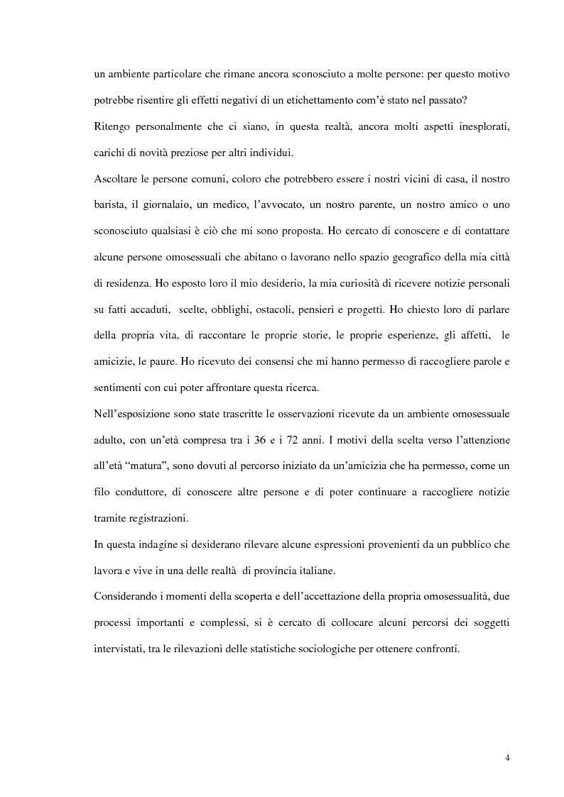 Anteprima della tesi: Modelli di amore e nuove forme di vita: il caso dell'omosessualità, Pagina 2