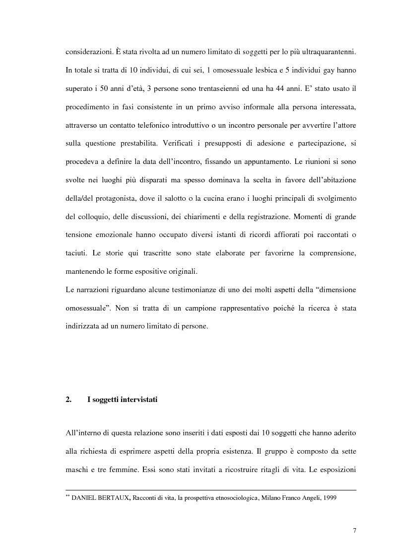 Anteprima della tesi: Modelli di amore e nuove forme di vita: il caso dell'omosessualità, Pagina 5