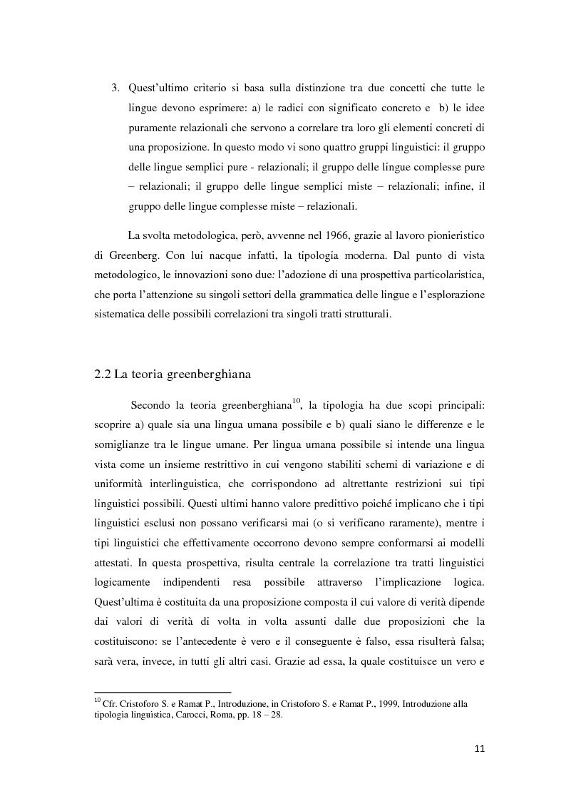 Anteprima della tesi: Didattica ludica dell'italiano alle elementari: il sistema nominale, Pagina 11