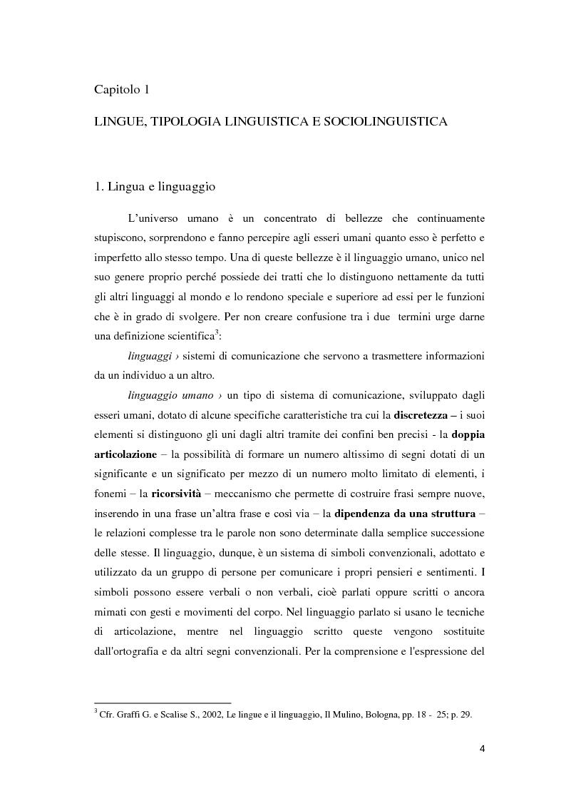 Anteprima della tesi: Didattica ludica dell'italiano alle elementari: il sistema nominale, Pagina 4