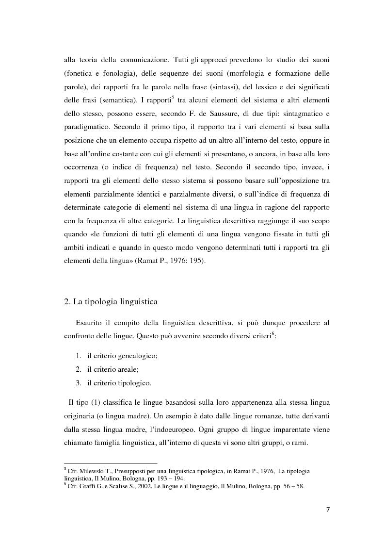 Anteprima della tesi: Didattica ludica dell'italiano alle elementari: il sistema nominale, Pagina 7