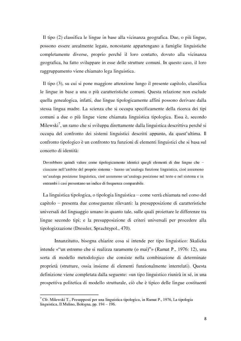 Anteprima della tesi: Didattica ludica dell'italiano alle elementari: il sistema nominale, Pagina 8