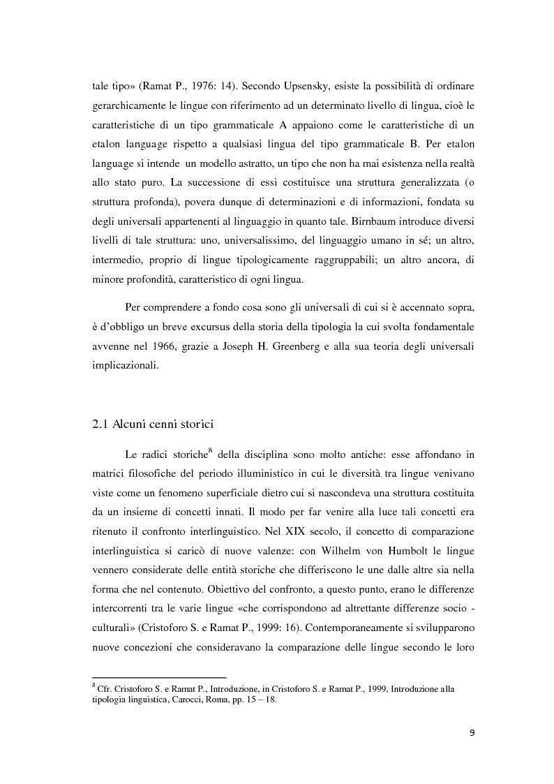 Anteprima della tesi: Didattica ludica dell'italiano alle elementari: il sistema nominale, Pagina 9