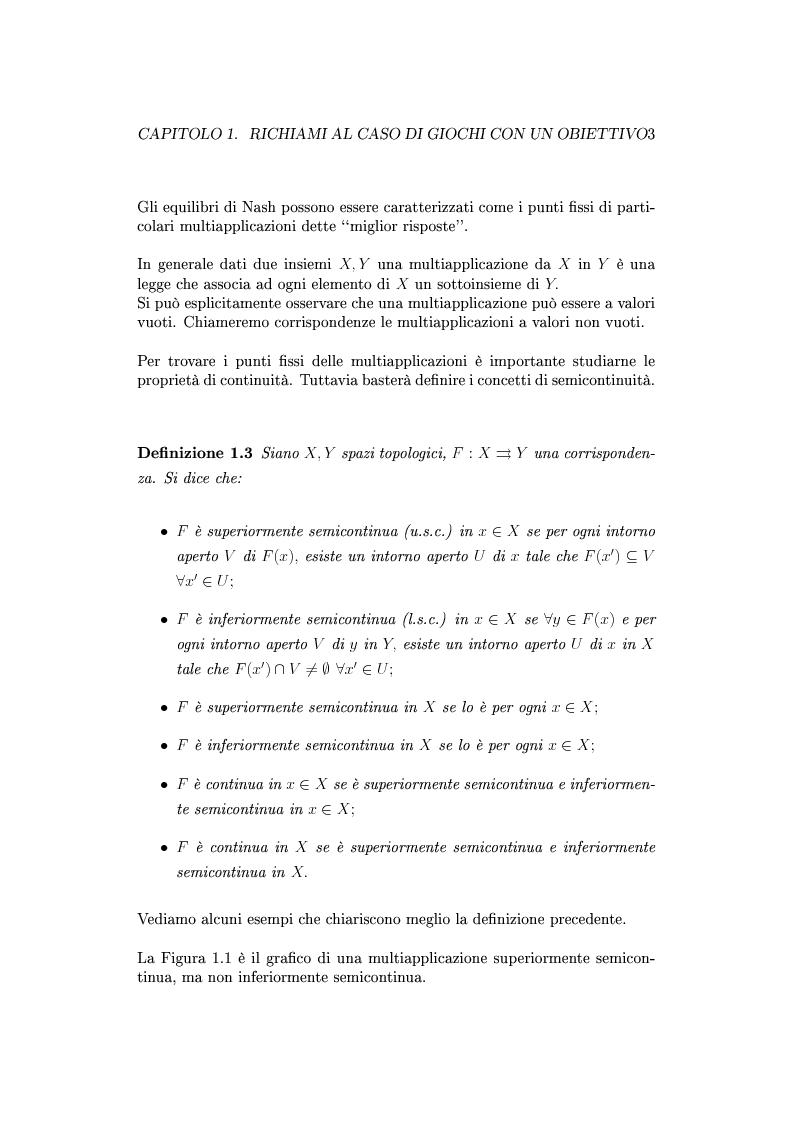 Anteprima della tesi: Giochi non cooperativi con più obiettivi, Pagina 8