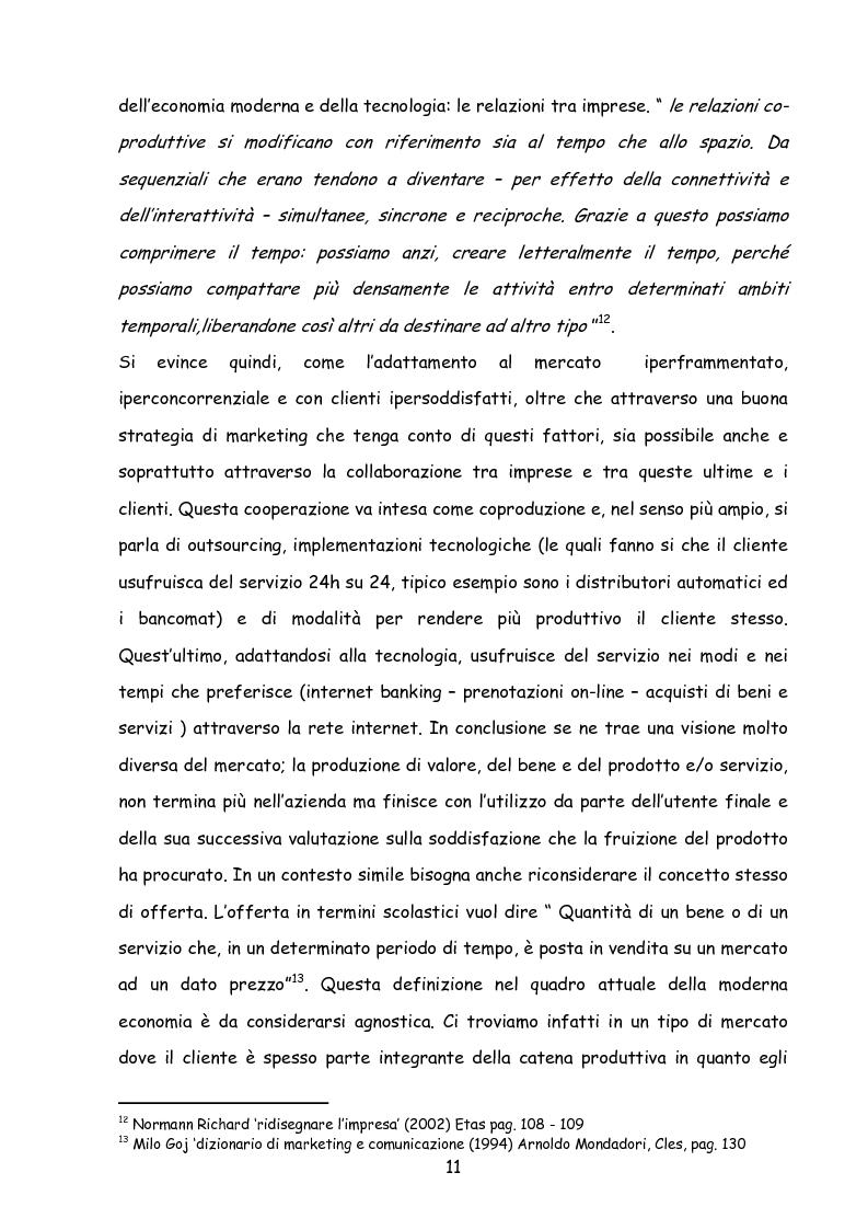 Anteprima della tesi: Il marketing nella new economy, Pagina 10