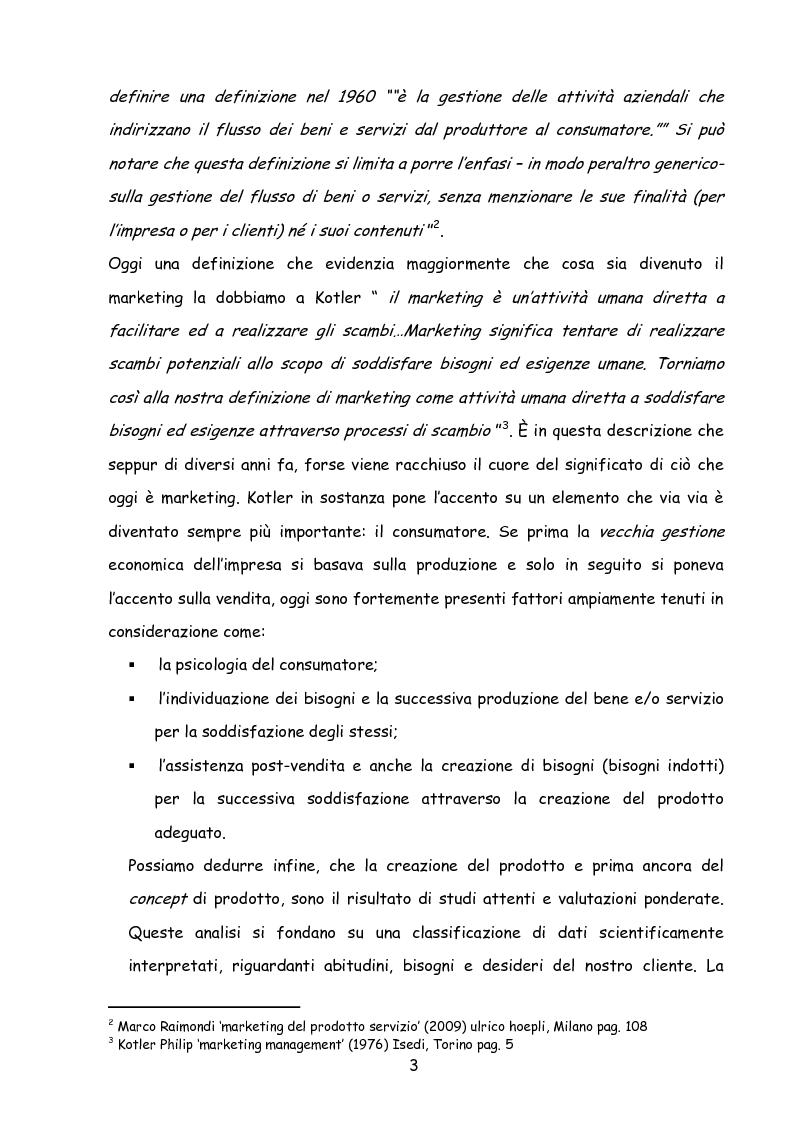 Anteprima della tesi: Il marketing nella new economy, Pagina 2