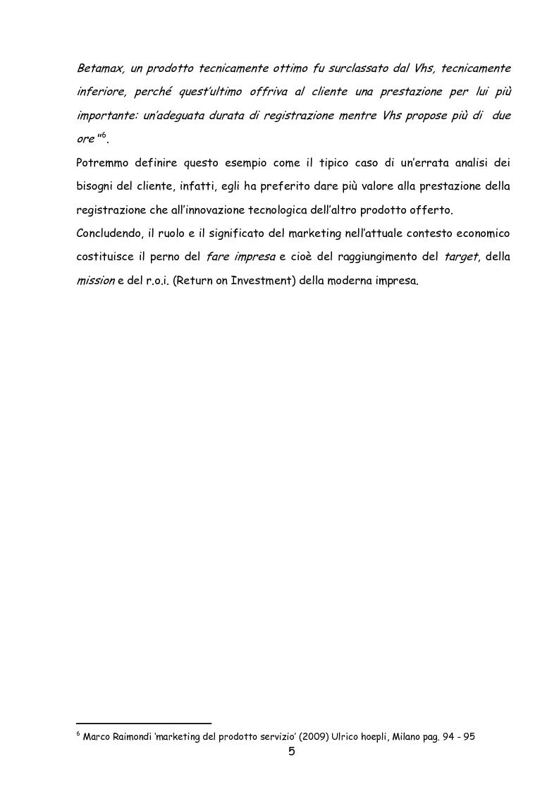 Anteprima della tesi: Il marketing nella new economy, Pagina 4