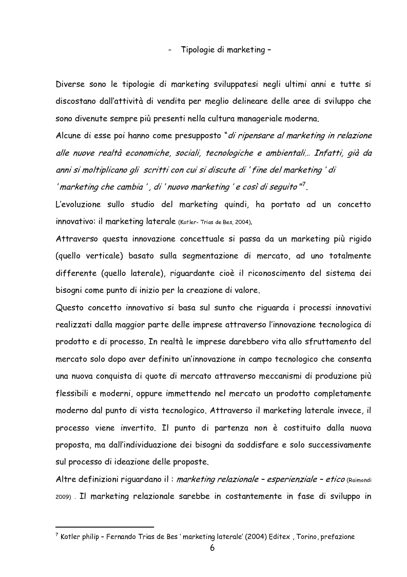 Anteprima della tesi: Il marketing nella new economy, Pagina 5