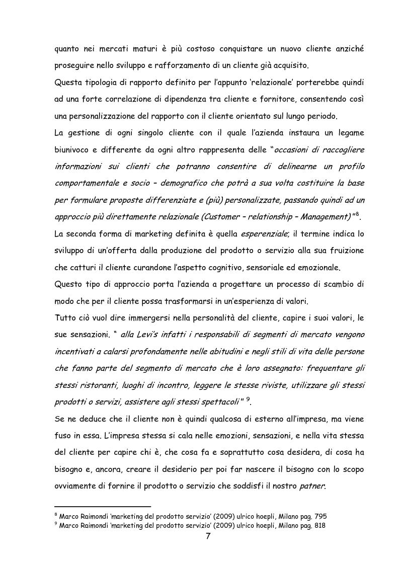 Anteprima della tesi: Il marketing nella new economy, Pagina 6
