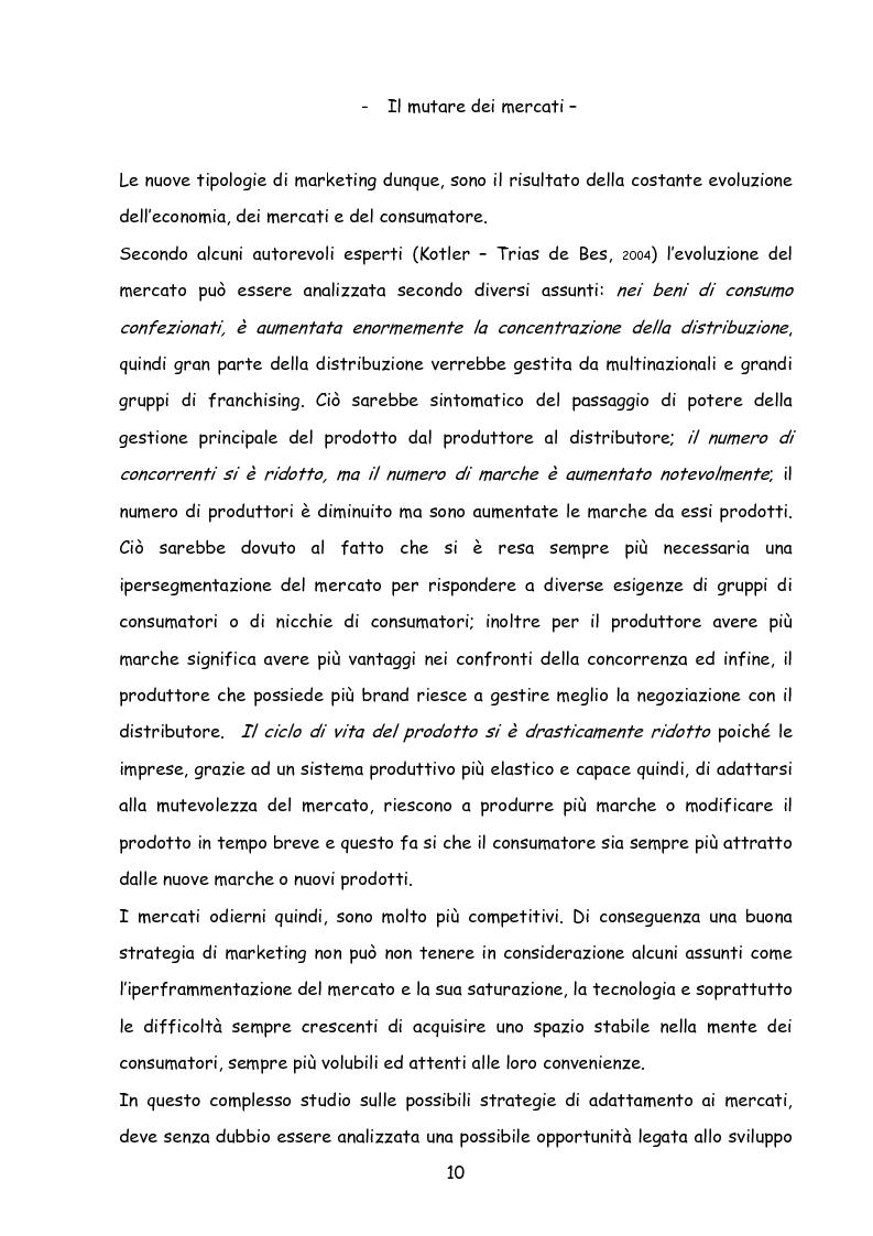Anteprima della tesi: Il marketing nella new economy, Pagina 9