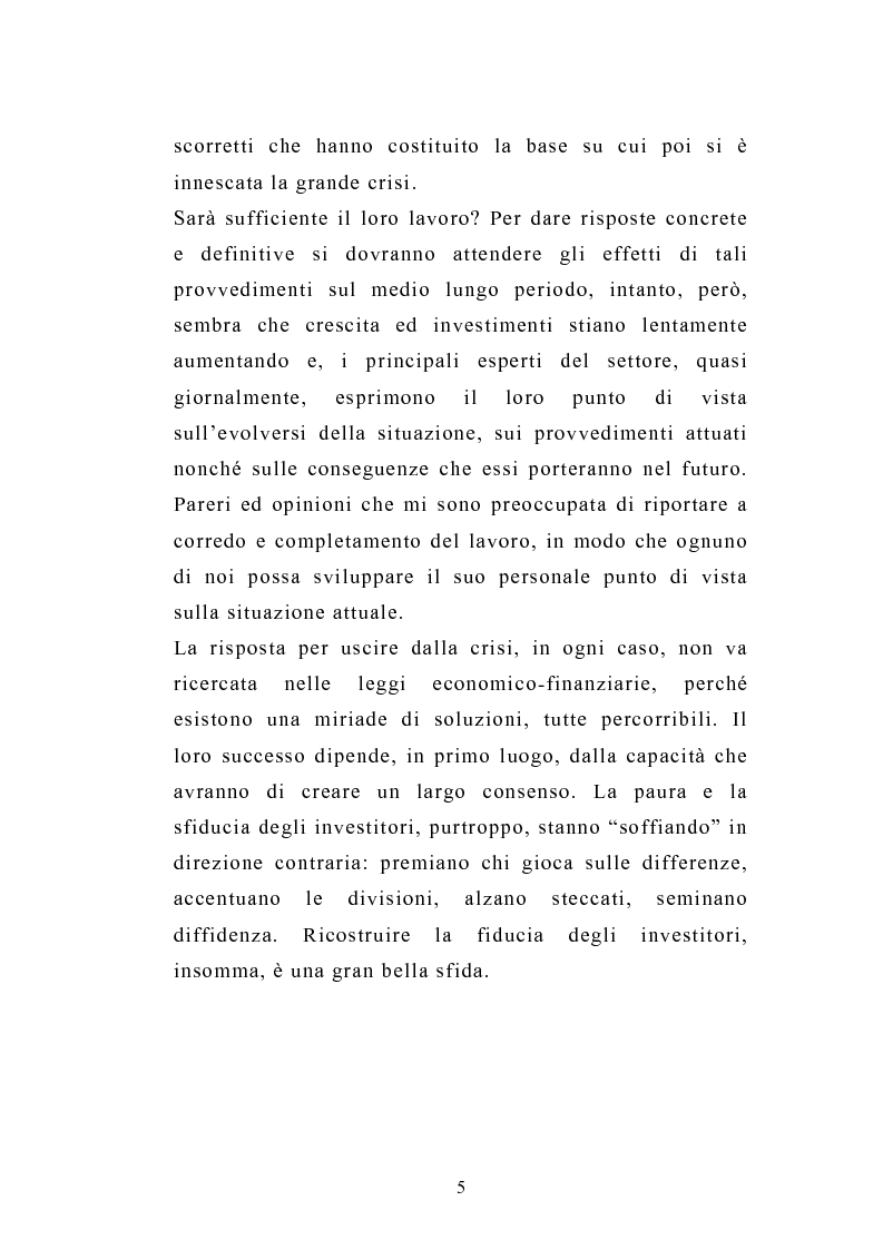 Anteprima della tesi: I servizi d'investimento prima e dopo la crisi finanziaria, Pagina 3