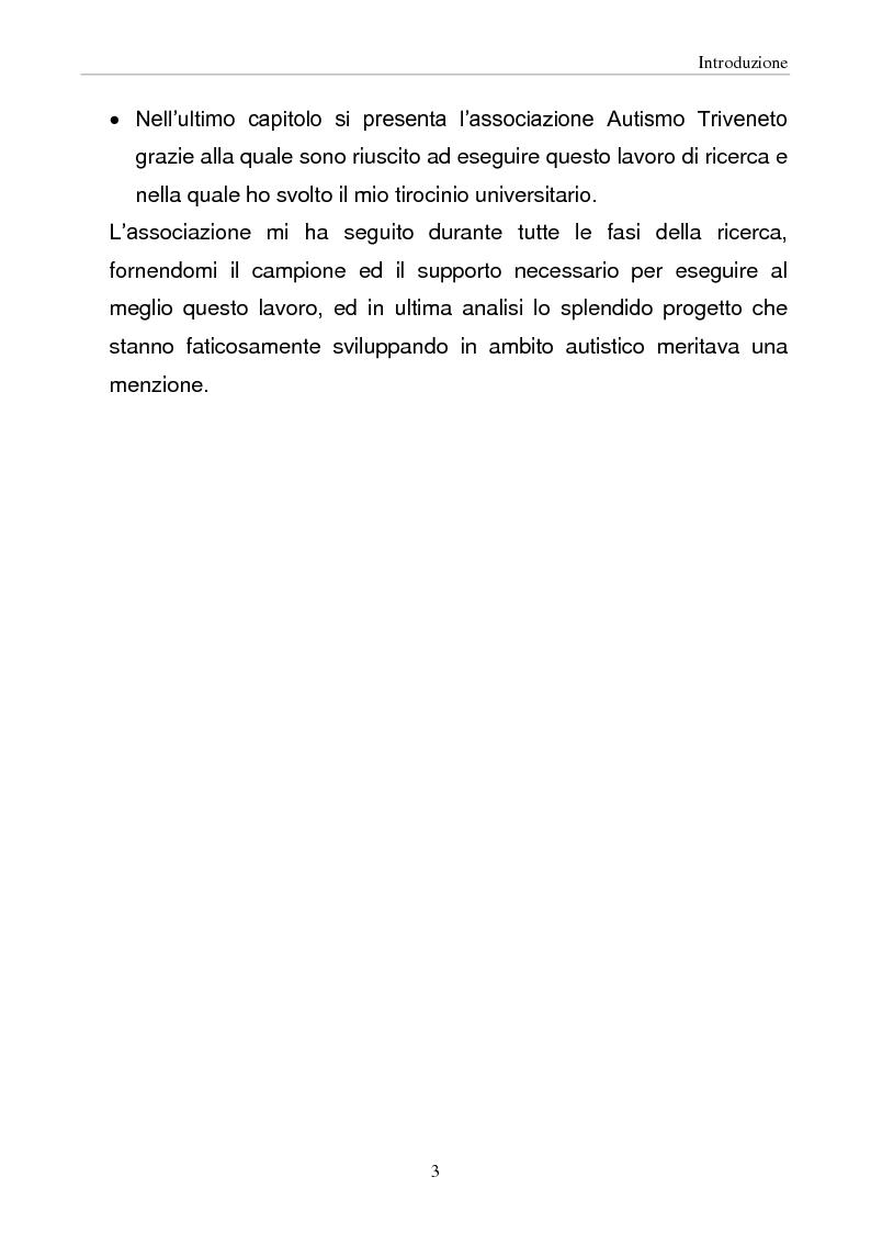Anteprima della tesi: Fratelli sani di bambini autistici: possibili indicatori di rischio di evoluzione socio-psicologica, Pagina 3