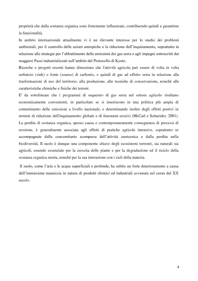Anteprima della tesi: Analisi di genotossicità di suoli agricoli in colture biologiche e convenzionali di pomodoro, Pagina 4