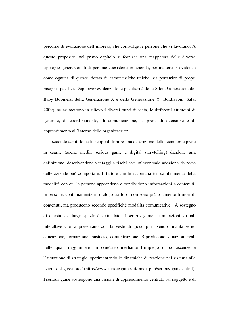 Anteprima della tesi: Nuove tecnologie e pratiche emergenti per lo sviluppo organizzativo, Pagina 3