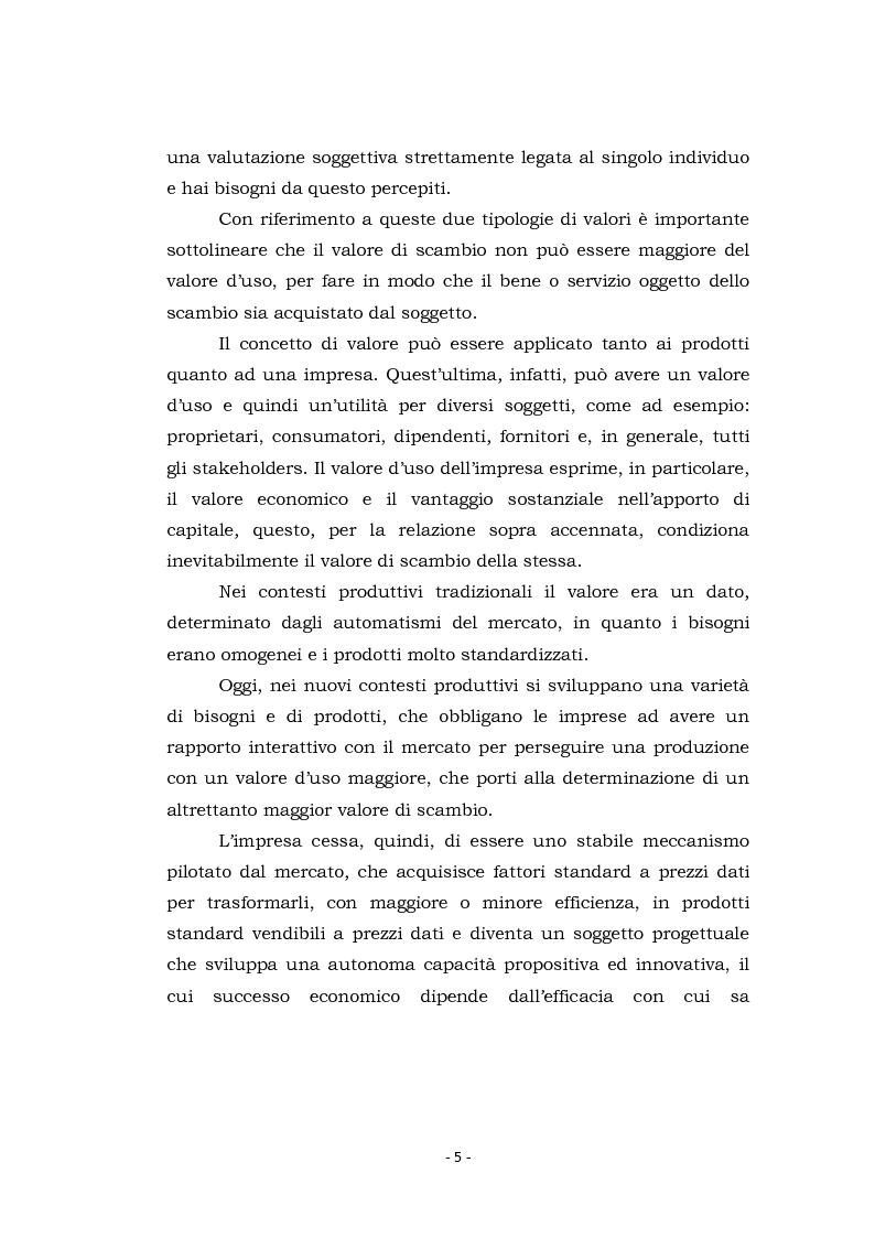 Anteprima della tesi: Acquisizioni aziendali e processi di creazione/distruzione di valore. Il caso Pirelli - Telecom Italia., Pagina 5