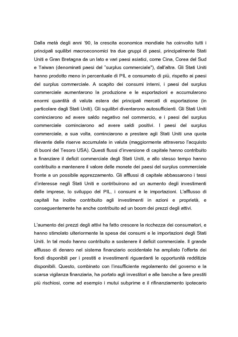 Anteprima della tesi: La crisi globale e il mercato europeo delle attrezzature di costruzione, Pagina 4