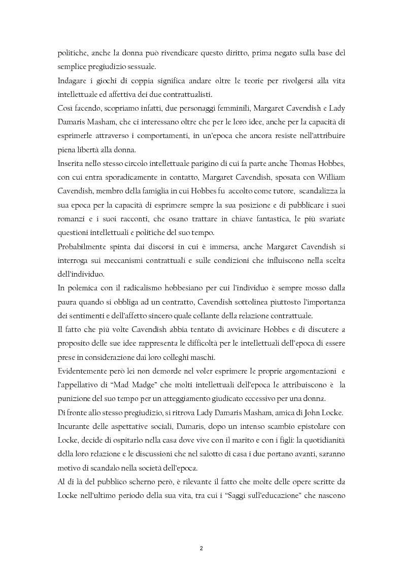 Anteprima della tesi: Giochi di coppia. Logiche patriarcali e pensiero politico inglese tra il XVII e il XIX secolo., Pagina 2