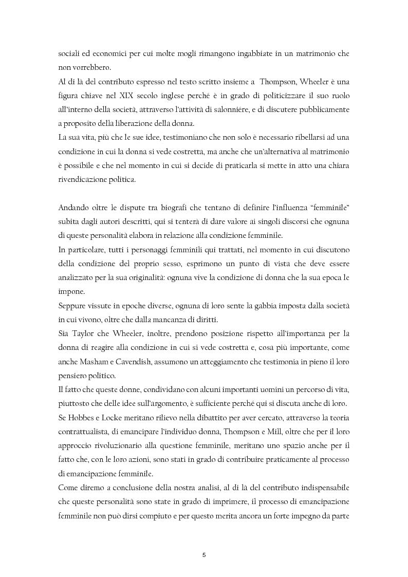 Anteprima della tesi: Giochi di coppia. Logiche patriarcali e pensiero politico inglese tra il XVII e il XIX secolo., Pagina 5