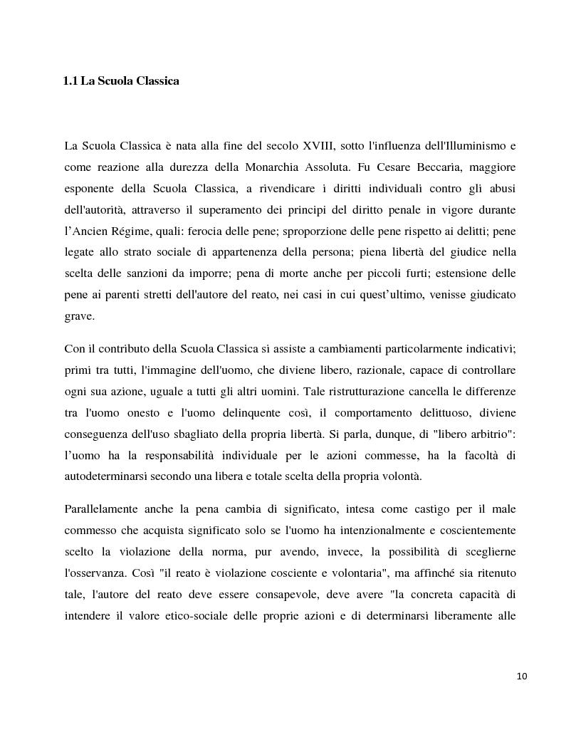 Anteprima della tesi: Dentro il carcere e oltre. La devianza minorile tra sanzione e recupero., Pagina 7