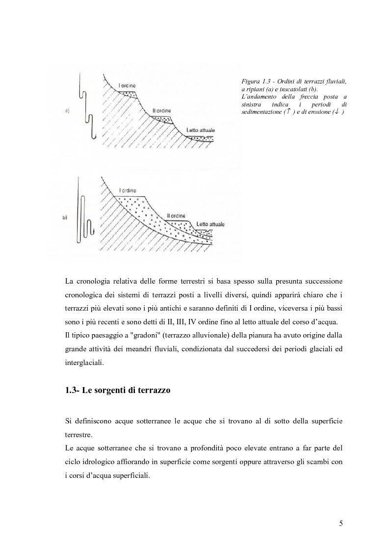Anteprima della tesi: Dinamica di accrescimento di Leucojum aestivum L. in alcune sorgenti di terrazzo a Pavia, Pagina 5