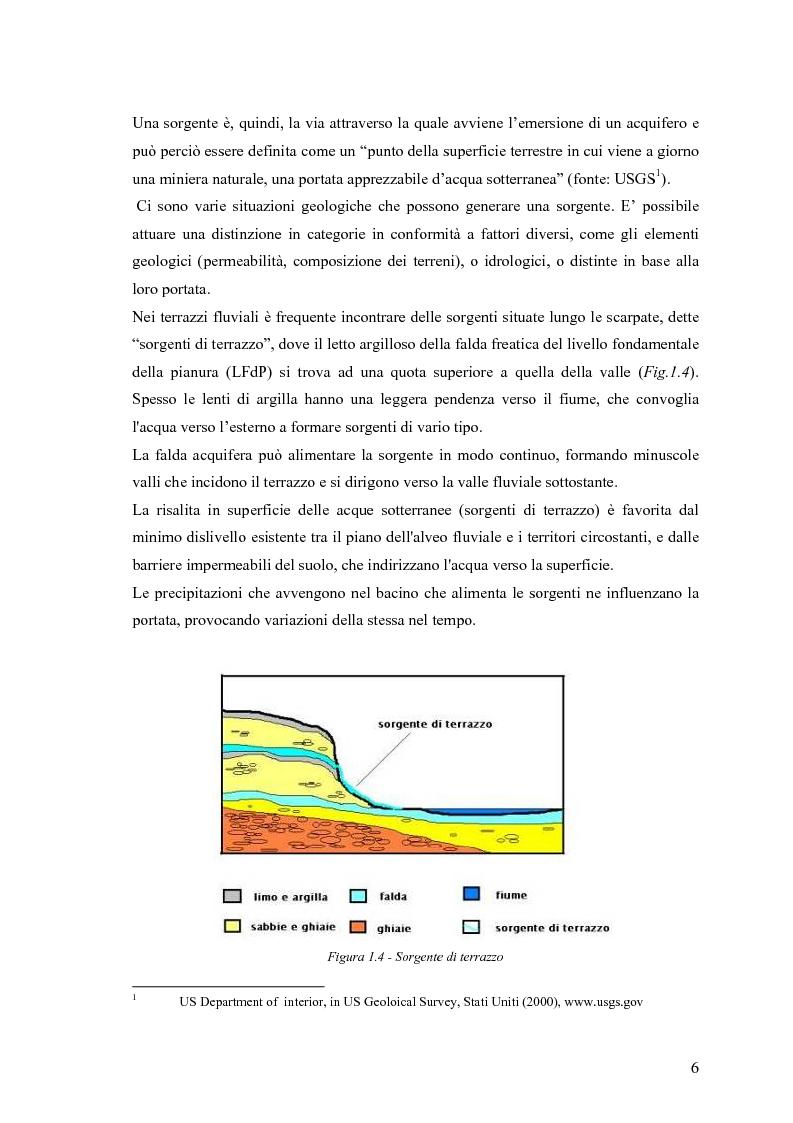 Anteprima della tesi: Dinamica di accrescimento di Leucojum aestivum L. in alcune sorgenti di terrazzo a Pavia, Pagina 6