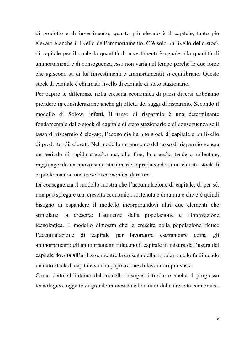 Anteprima della tesi: Investimenti diretti esteri: gli IDE in Romania, Pagina 5