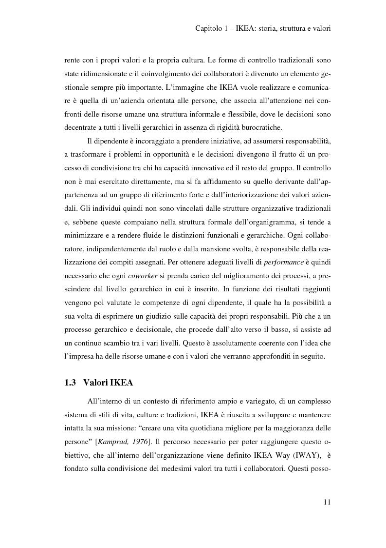 Anteprima della tesi: L'outsourcing di attività ad alta intensità di lavoro: il caso IKEA - Brescia, Pagina 11