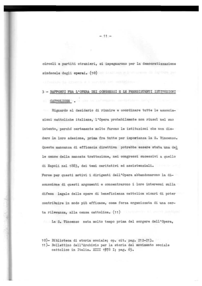Anteprima della tesi: Il Mutualismo Cattolico a Sestri Ponente nell'ambito del Movimento Sociale Cattolico Ligure (1875-1900), Pagina 11