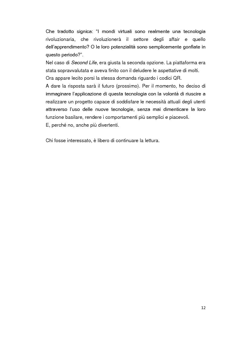 Anteprima della tesi: Alghero QR - La città parla in codice. Tra turismo, web 2.0, servizi mobile e progetti sperimentali., Pagina 6
