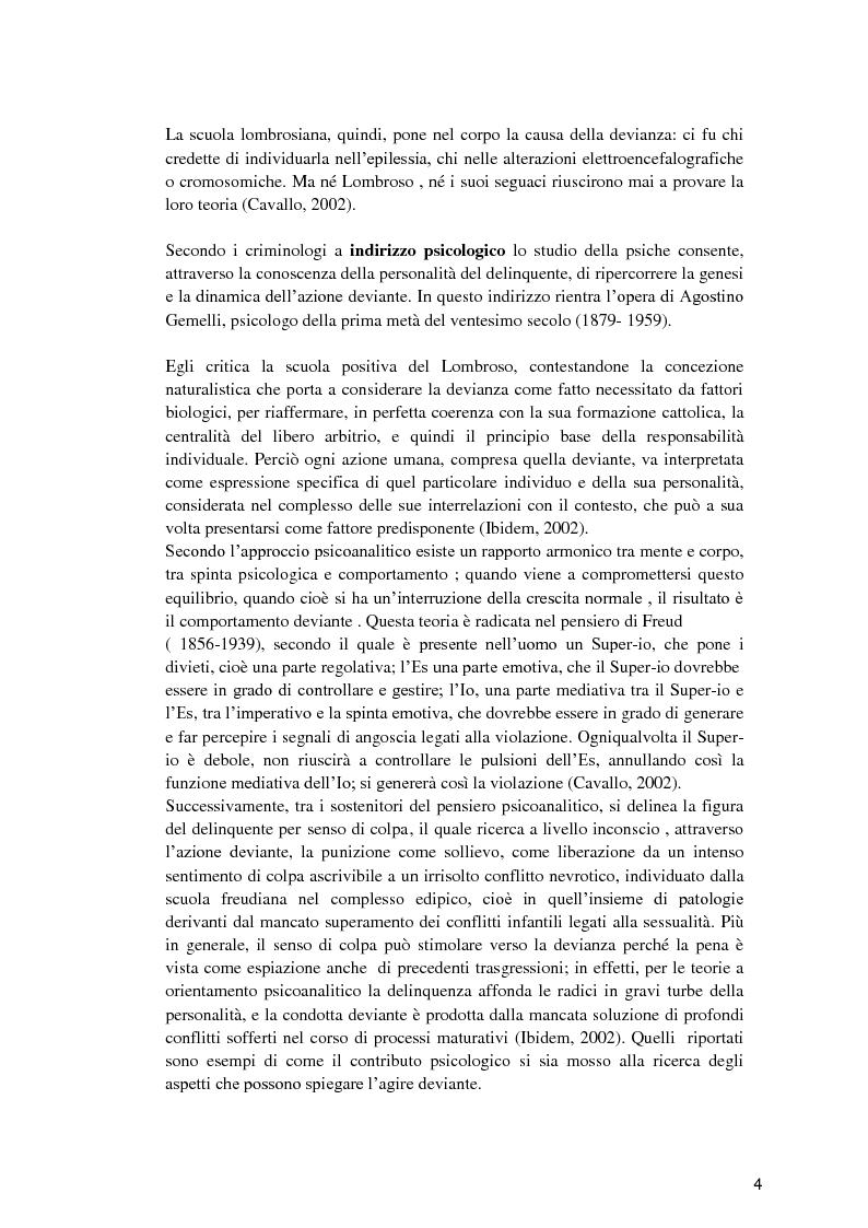 Anteprima della tesi: Il minore dell'area penale e l'inserimento lavorativo nel percorso rieducativo, Pagina 3