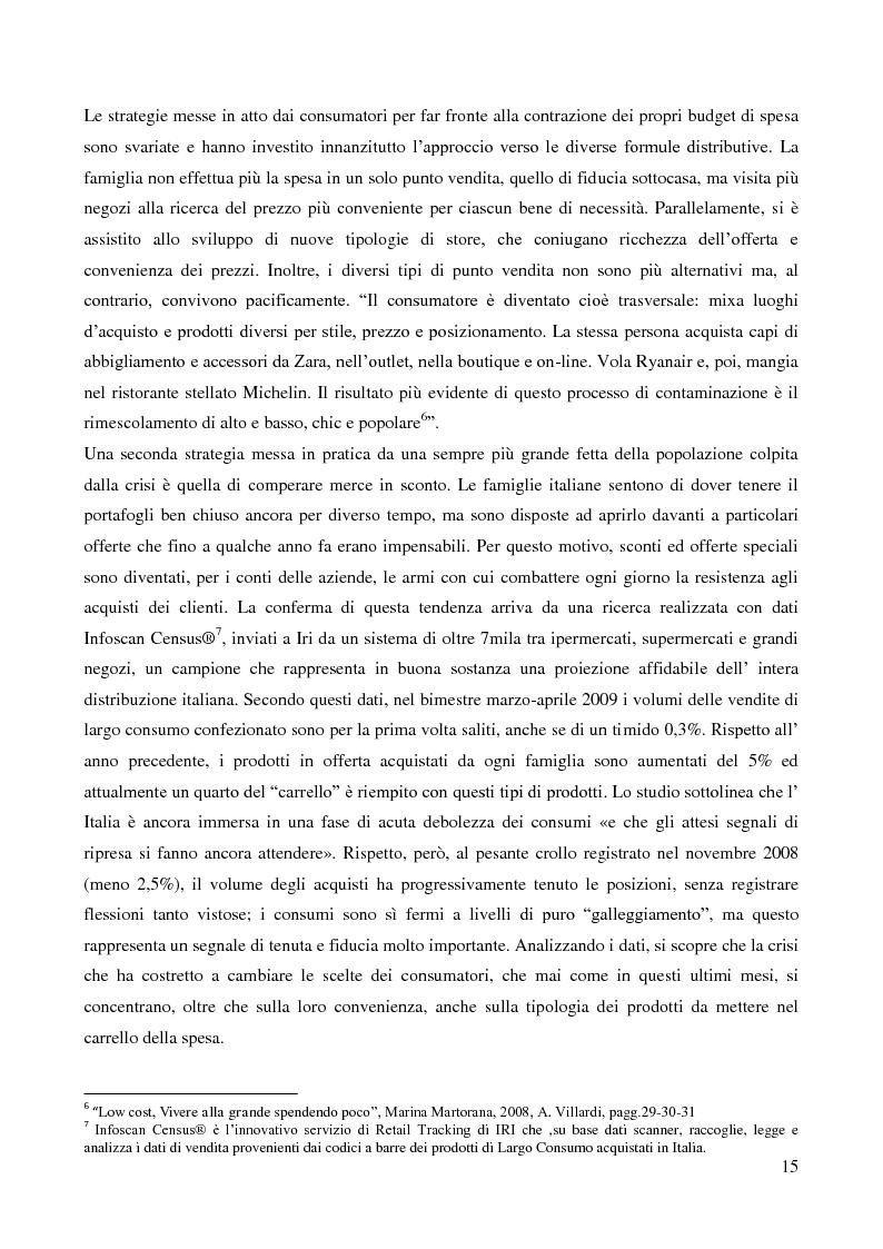 Anteprima della tesi: Lo sviluppo di un nuovo canale commerciale: gli outlet elettronici, Pagina 11