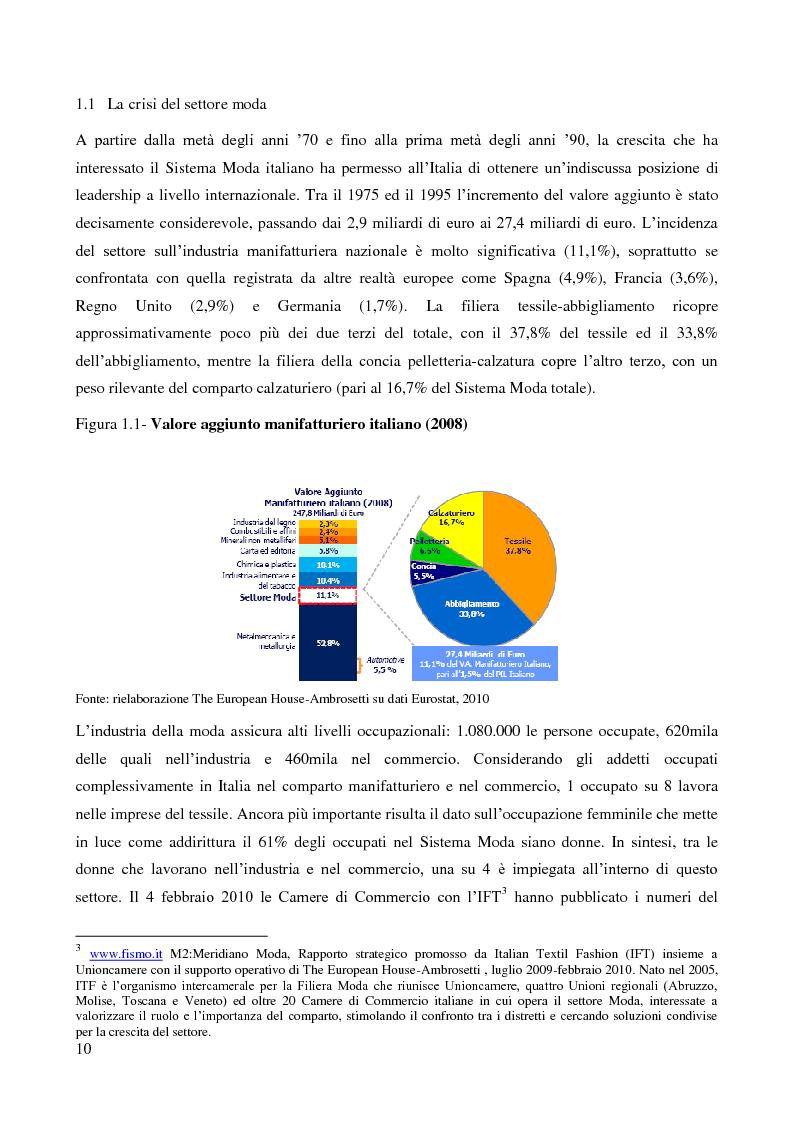 Anteprima della tesi: Lo sviluppo di un nuovo canale commerciale: gli outlet elettronici, Pagina 6