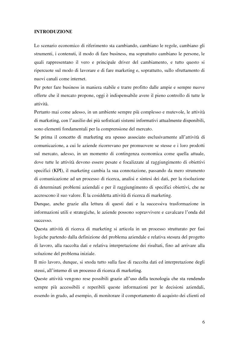 Anteprima della tesi: Marketing e ICT, Pagina 2
