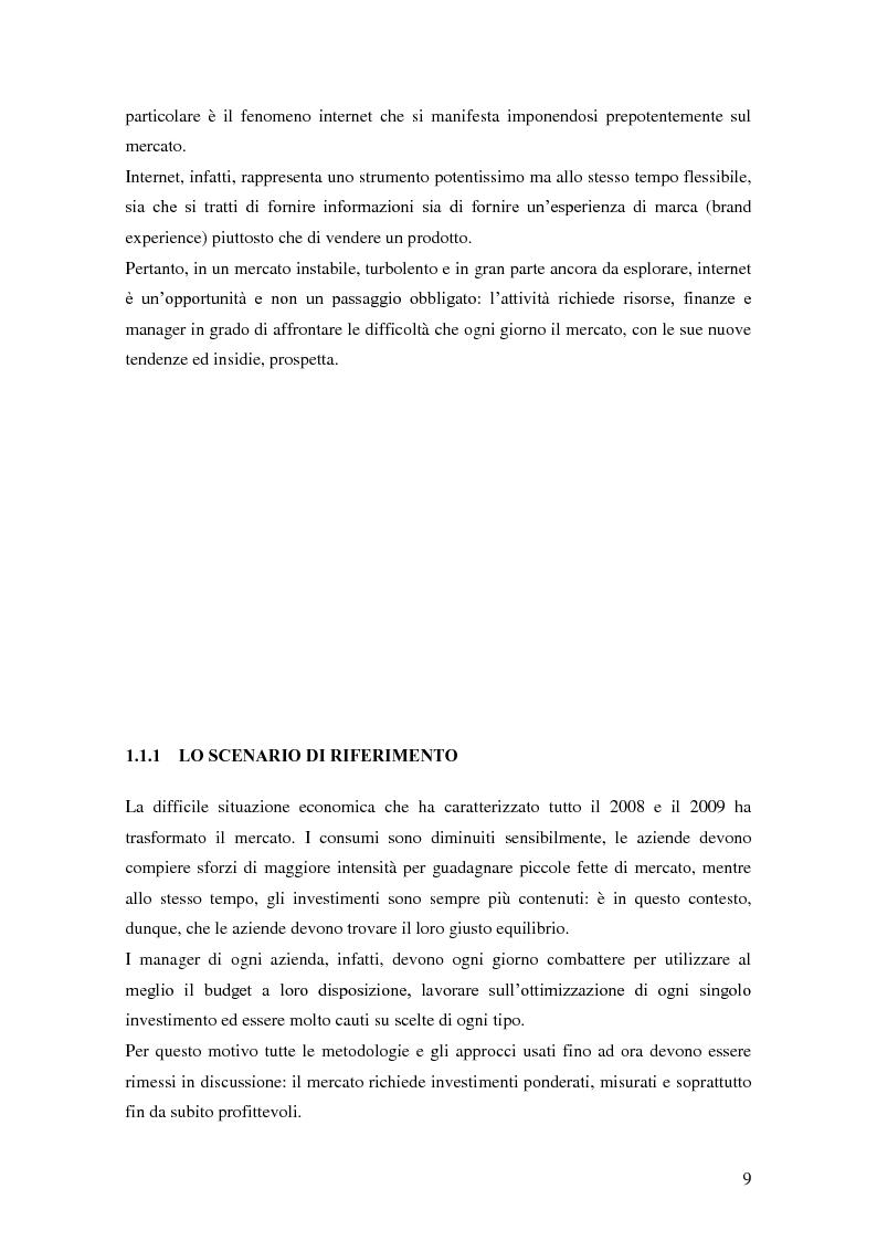 Anteprima della tesi: Marketing e ICT, Pagina 5