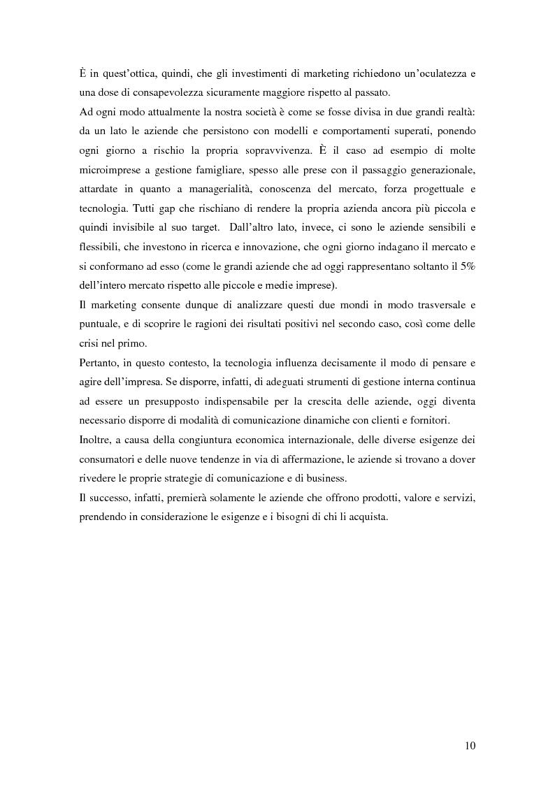 Anteprima della tesi: Marketing e ICT, Pagina 6