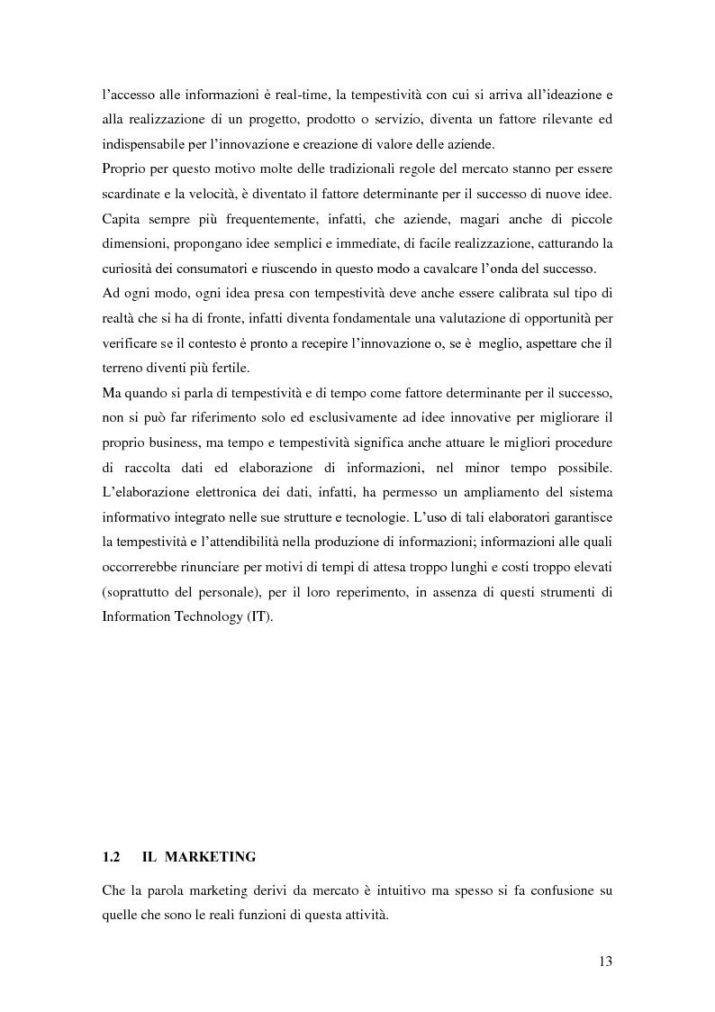 Anteprima della tesi: Marketing e ICT, Pagina 9