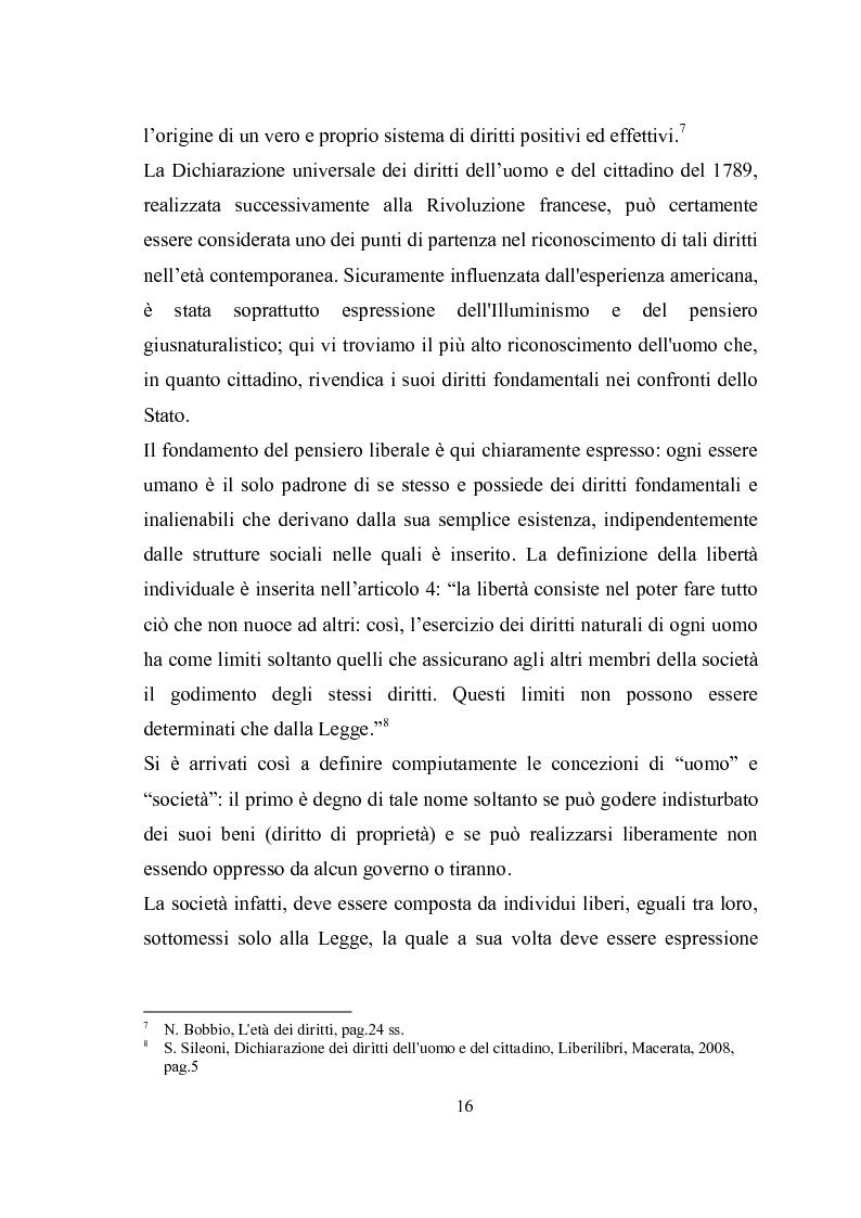 Anteprima della tesi: Universalità dei diritti e filosofia dell'economia politica, Pagina 10