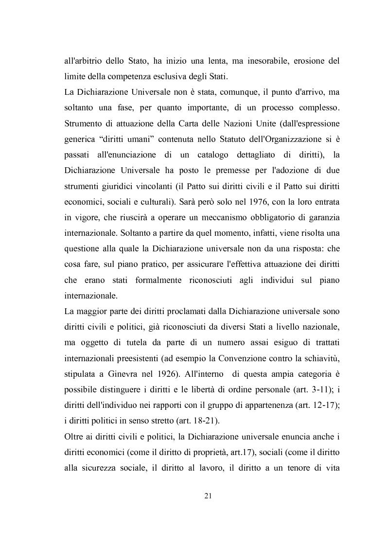 Anteprima della tesi: Universalità dei diritti e filosofia dell'economia politica, Pagina 15
