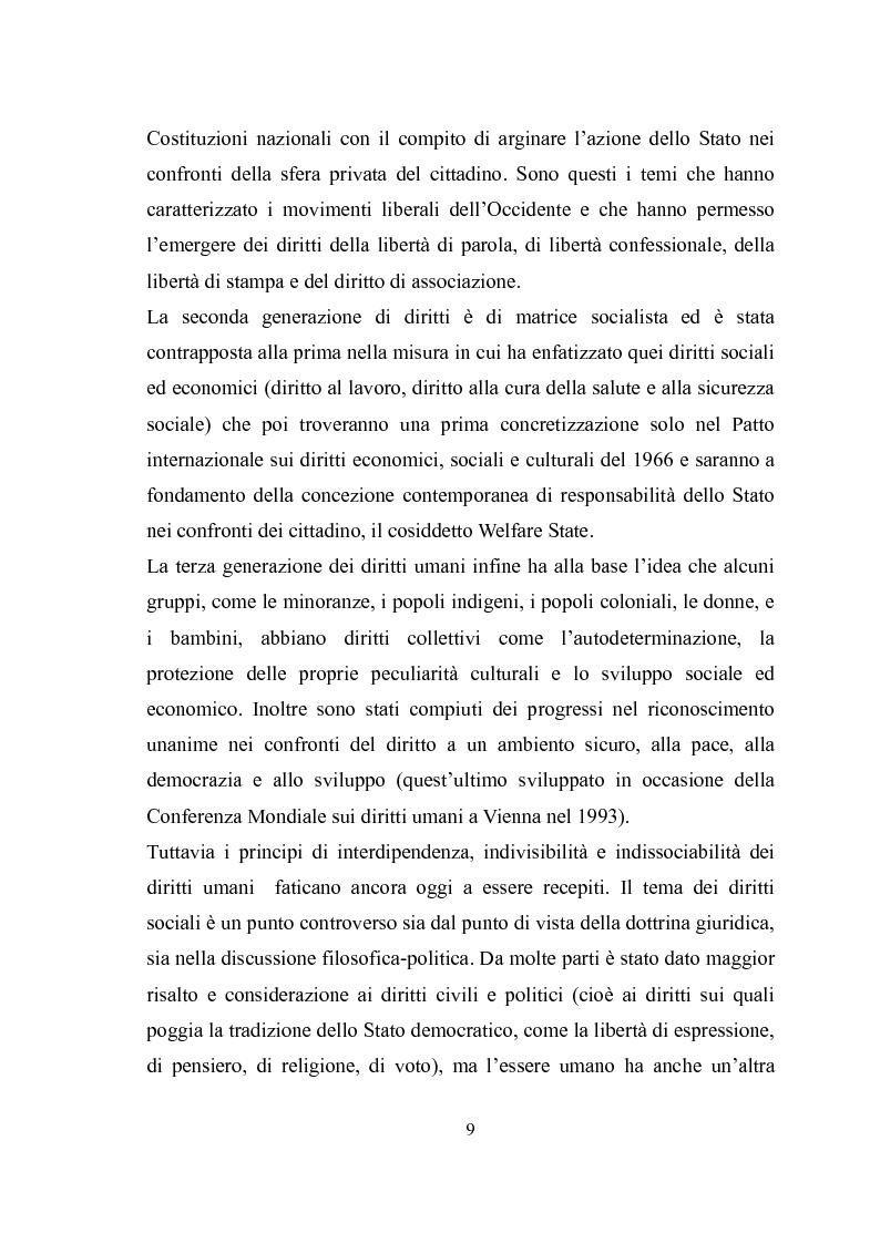 Anteprima della tesi: Universalità dei diritti e filosofia dell'economia politica, Pagina 3