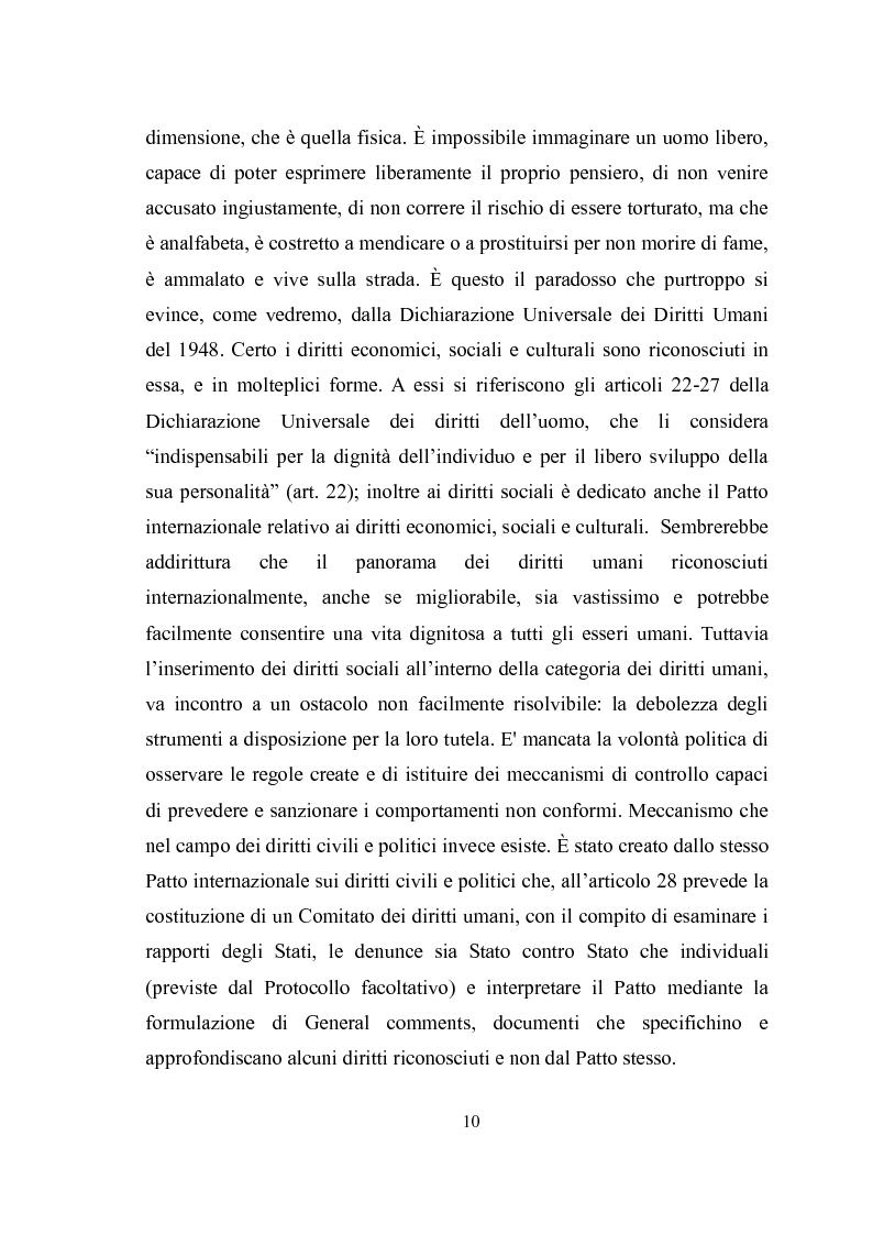 Anteprima della tesi: Universalità dei diritti e filosofia dell'economia politica, Pagina 4