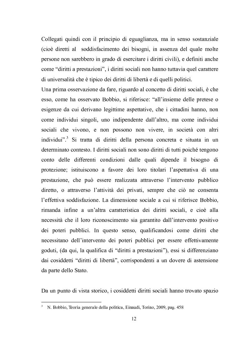 Anteprima della tesi: Universalità dei diritti e filosofia dell'economia politica, Pagina 6