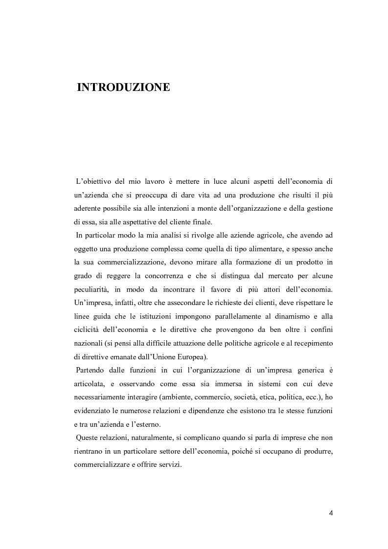 Anteprima della tesi: Il valore della soddisfazione del cliente nella gestione di un'azienda agricola, Pagina 1
